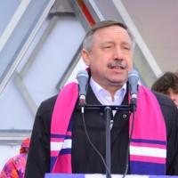 Открытие часов обратного отсчета за 1 год до начала XXII Олимпийских зимних игр 2014 года в городе Сочи