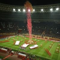 Церимония открытия Финала Лиги Чемпионов УЕФА 2008