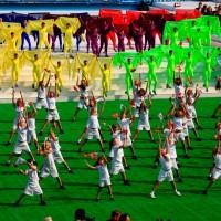 Церемония открытия Дня города Москвы-2008