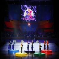 Церемония закрытия и награждения 1-х Детско-юношеских игр «Олимпийские надежды» на Кубок Мэра Москвы 26 мая 2008 г.