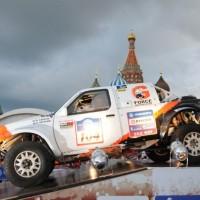 Старт ралли «Шелковый путь-2011» на Красной площади
