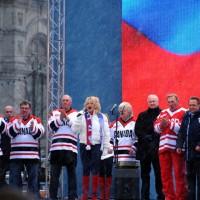 Презентация хоккейного матча и его участников,посвященного 40-летию суперсерии СССР – Канада – 1972