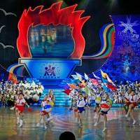 Церемония закрытия и награждения III Детско-юношеских игр «Олимпийские надежды» на кубок мэра Москвы 14 мая 2010 года