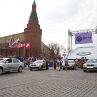 Церемония передачи автомобилей