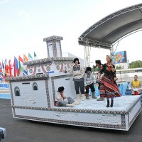 Церемония открытия Чемпионата мира по гребле на байдарках и каноэ