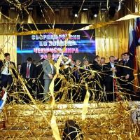 Чествование чемпионов мира по хоккею 2012 г. - ХОККЕИСТОВ СБОРНОЙ РОССИИ