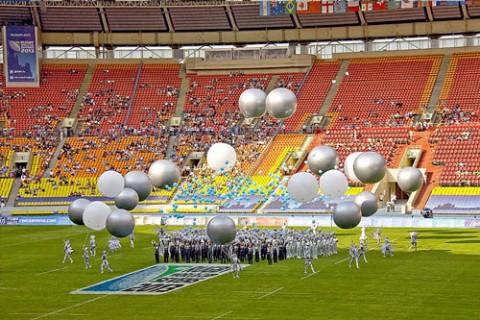 Церемония открытия Кубка Мира по Регби-7