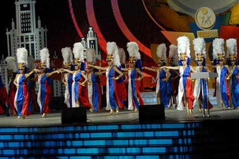 Церемония открытия Московской студенческой Универсиады и Фестиваль «Спорт и стиль» среди студентов ВУЗов Москвы