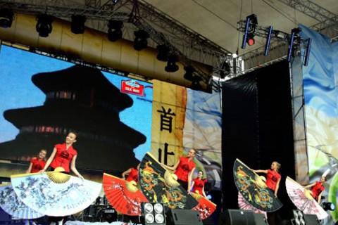 Старт ралли Шелковый путь-2012 на Красной площади