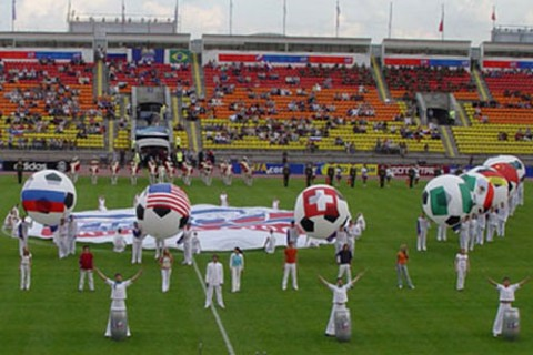 Церемония открытия Чемпионата мира 2006 г. по футболу среди женщин в возрасте до 20 лет