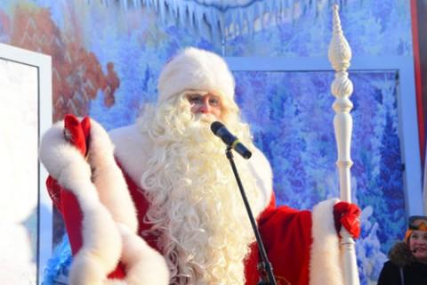 Встреча Всероссийского Деда Мороза 24 декабря 2012 года