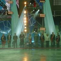 Торжественная церемония открытия Крытого Конькобежного центра в Крылатском