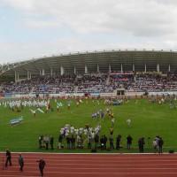 Торжественная церемония открытия легкоатлетического стадиона