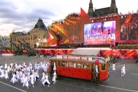 Театрализованное представление «От Кремля до Рейхстага», посвященное 60-летию Победы в Великой Отечественной войне