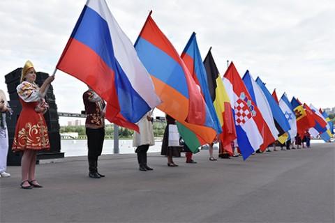 Торжественная Церемонии Открытия Чемпионата Европы по гребле на байдарках, каноэ и параканоэ
