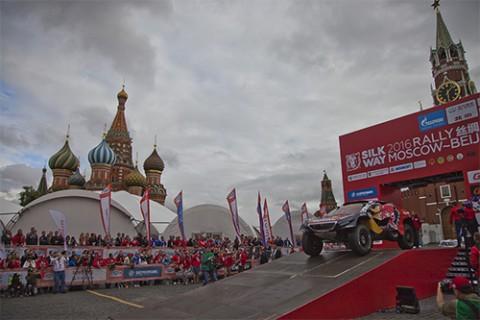 Старт ралли «Шёлковый путь — 2016» на Красной площади