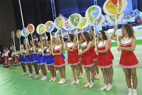 Торжественное мероприятие в поддержку паралимпийской сборной Российской Федерации