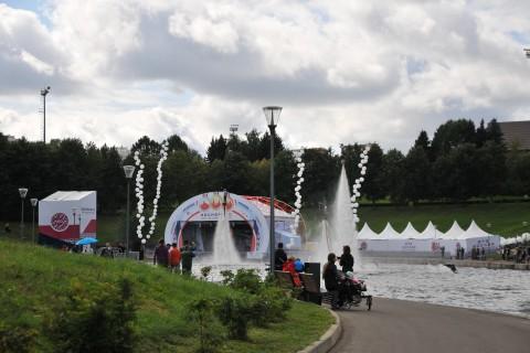 Культурно-массовое мероприятие в рамках празднования дня города Москвы «Москва – за спорт!»