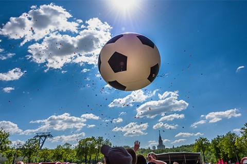 Фестиваль «Россия любит футбол!»