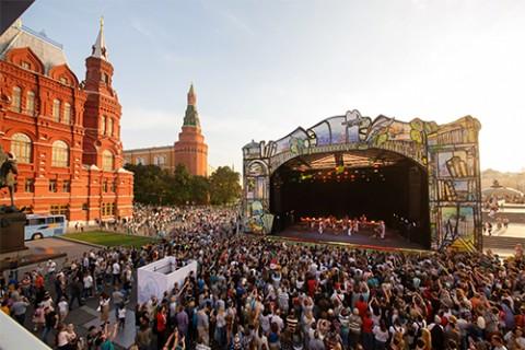 Уличная программа Международного театрального фестиваля им. А.П. Чехова в День города Москвы 2018